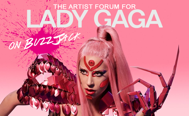 BuzzJack Music Forum -> Lady Gaga